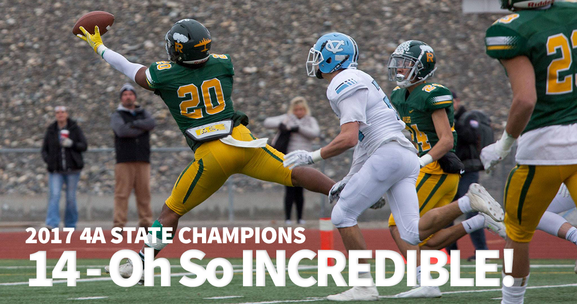 2017: Ryan Piper spectacular catch against Central Valley in the 4A State Semifinal